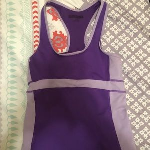 Tops - Purple athletic top